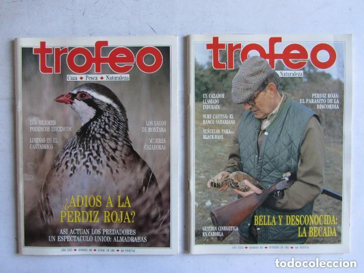 Coleccionismo deportivo: TROFEO. REVISTA CAZA, (PESCA, NATURALEZA) LOTE DE 69 EJEMPLARES ENTRE Nº 236 (1990) Y 331 (1997) VER - Foto 22 - 135812018