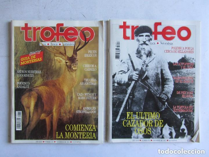 Coleccionismo deportivo: TROFEO. REVISTA CAZA, (PESCA, NATURALEZA) LOTE DE 69 EJEMPLARES ENTRE Nº 236 (1990) Y 331 (1997) VER - Foto 25 - 135812018