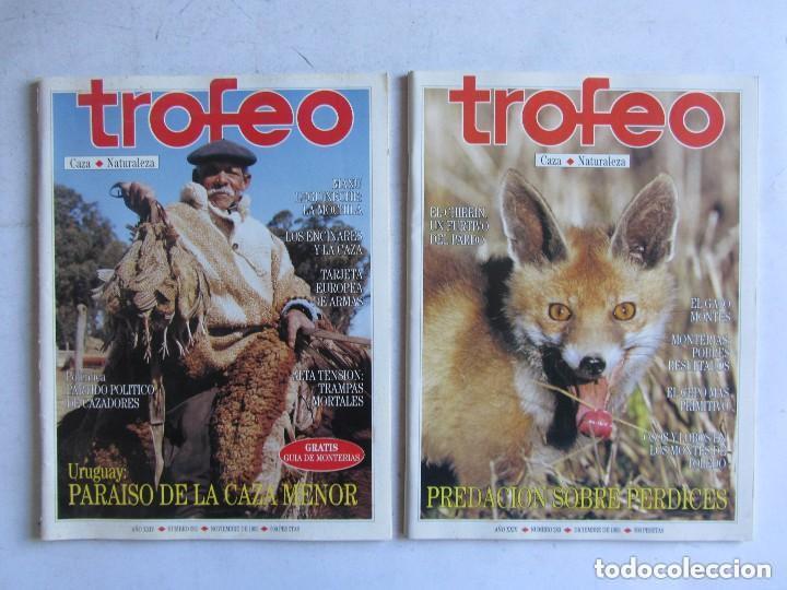 Coleccionismo deportivo: TROFEO. REVISTA CAZA, (PESCA, NATURALEZA) LOTE DE 69 EJEMPLARES ENTRE Nº 236 (1990) Y 331 (1997) VER - Foto 29 - 135812018