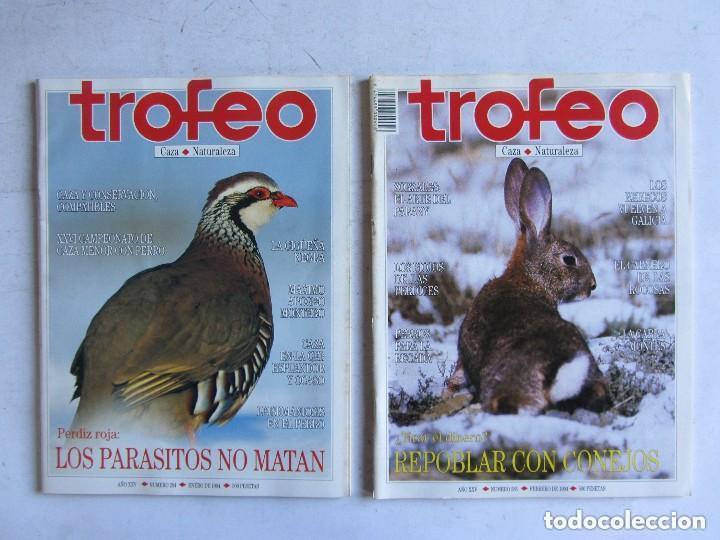 Coleccionismo deportivo: TROFEO. REVISTA CAZA, (PESCA, NATURALEZA) LOTE DE 69 EJEMPLARES ENTRE Nº 236 (1990) Y 331 (1997) VER - Foto 30 - 135812018