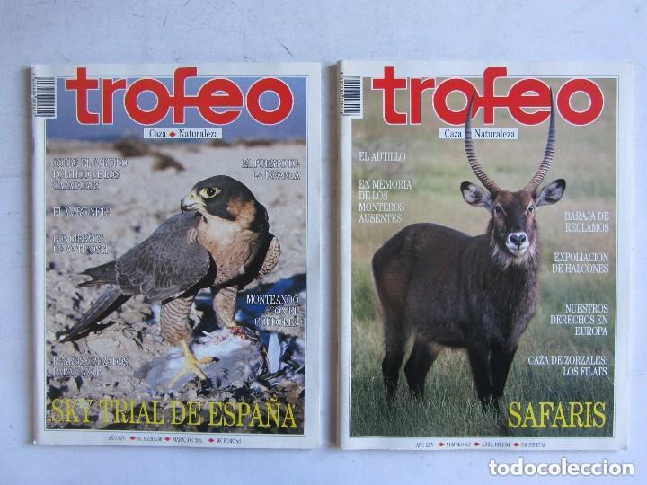 Coleccionismo deportivo: TROFEO. REVISTA CAZA, (PESCA, NATURALEZA) LOTE DE 69 EJEMPLARES ENTRE Nº 236 (1990) Y 331 (1997) VER - Foto 31 - 135812018