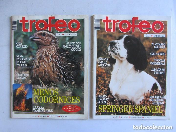 Coleccionismo deportivo: TROFEO. REVISTA CAZA, (PESCA, NATURALEZA) LOTE DE 69 EJEMPLARES ENTRE Nº 236 (1990) Y 331 (1997) VER - Foto 33 - 135812018