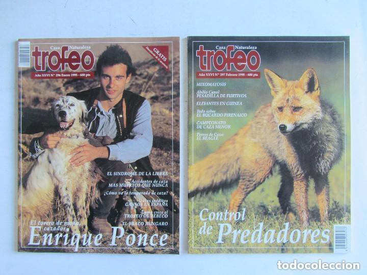 Coleccionismo deportivo: TROFEO. REVISTA CAZA, (PESCA, NATURALEZA) LOTE DE 69 EJEMPLARES ENTRE Nº 236 (1990) Y 331 (1997) VER - Foto 34 - 135812018