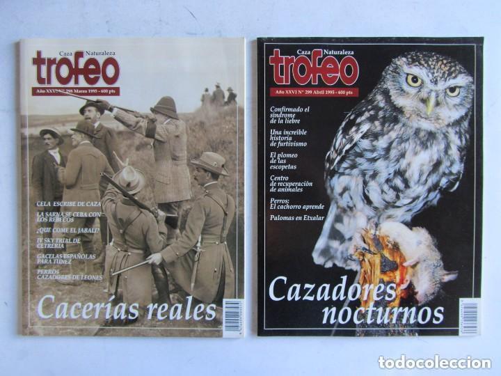 Coleccionismo deportivo: TROFEO. REVISTA CAZA, (PESCA, NATURALEZA) LOTE DE 69 EJEMPLARES ENTRE Nº 236 (1990) Y 331 (1997) VER - Foto 35 - 135812018