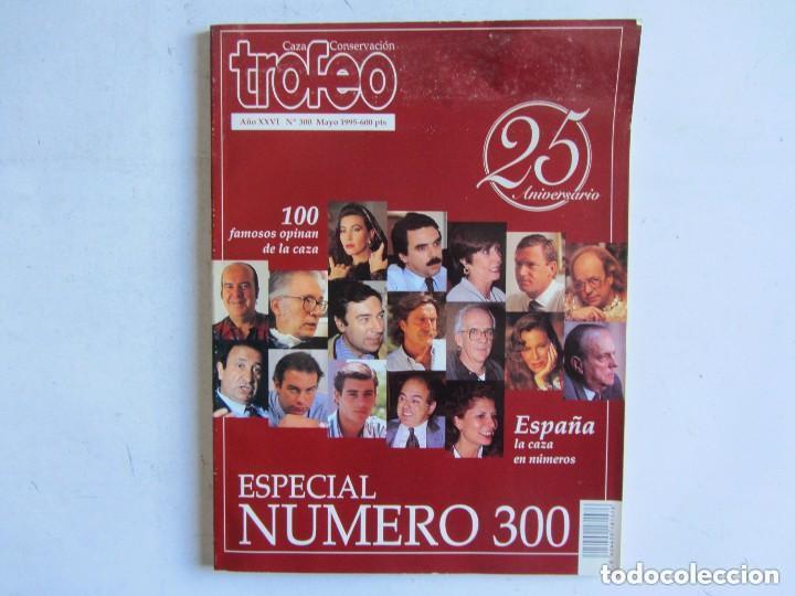 Coleccionismo deportivo: TROFEO. REVISTA CAZA, (PESCA, NATURALEZA) LOTE DE 69 EJEMPLARES ENTRE Nº 236 (1990) Y 331 (1997) VER - Foto 36 - 135812018