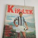 Coleccionismo deportivo: KIROLAK Nº 23 -ENERO 1974 SATRUSTEGUI REAL SOCIEDAD / POSTER SANSE ( IDIGORAS.) FUTBOL SAN SEBASTIAN. Lote 136049198
