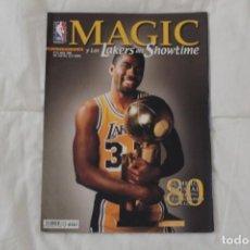 Coleccionismo deportivo: REVISTA OFICIAL NBA. Nº 18 MAYO 2000. MONOGRÁFICO ESPECIAL MAGIC Y LOS LAKERS DEL SHOWTIME. Lote 136059278