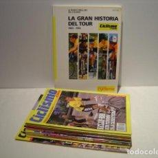 Coleccionismo deportivo: CICLISMO A FONDO - LOTE DE 11 REVISTAS - AÑOS 1988 A 1995. Lote 87472908