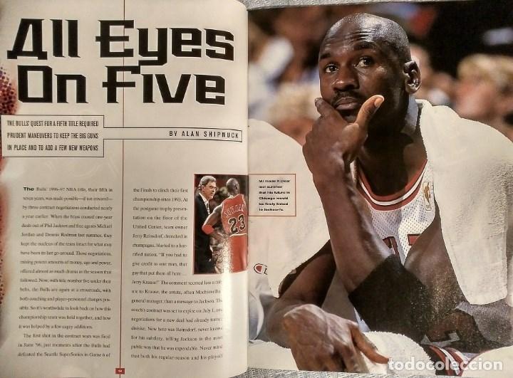 Coleccionismo deportivo: Michael Jordan - Revista Sports illustrated (1997) - Especial quinto anillo - NBA - Foto 3 - 76729867