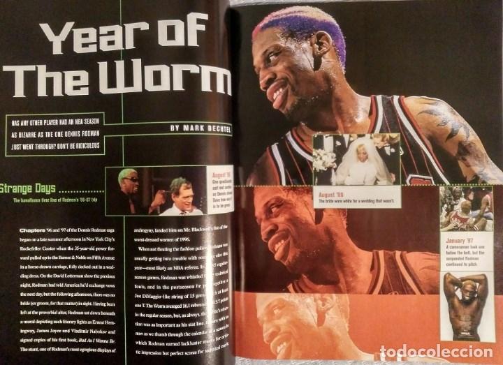 Coleccionismo deportivo: Michael Jordan - Revista Sports illustrated (1997) - Especial quinto anillo - NBA - Foto 4 - 76729867