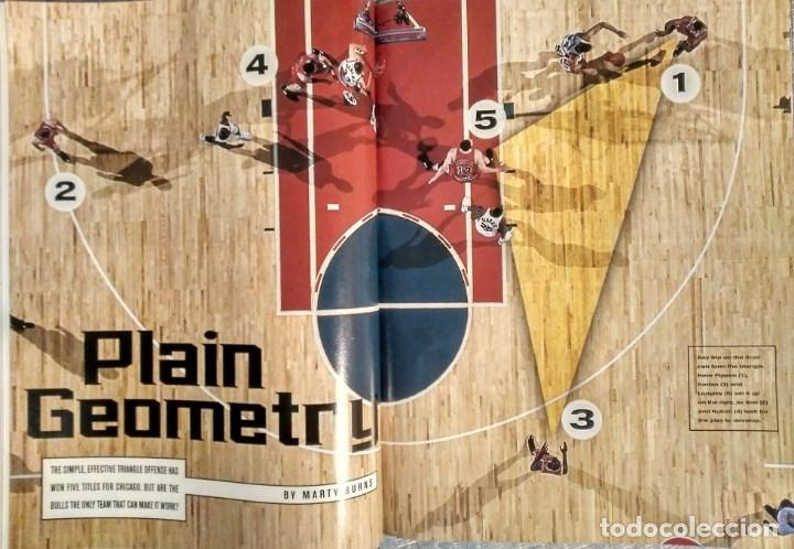 Coleccionismo deportivo: Michael Jordan - Revista Sports illustrated (1997) - Especial quinto anillo - NBA - Foto 5 - 76729867