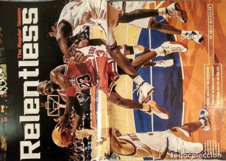 Coleccionismo deportivo: Michael Jordan - Revista Sports illustrated (1997) - Especial quinto anillo - NBA - Foto 6 - 76729867