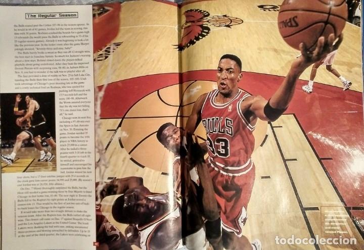 Coleccionismo deportivo: Michael Jordan - Revista Sports illustrated (1997) - Especial quinto anillo - NBA - Foto 7 - 76729867