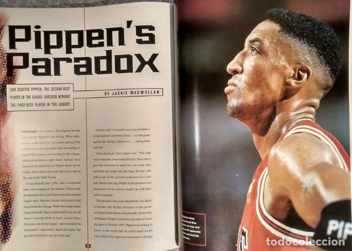 Coleccionismo deportivo: Michael Jordan - Revista Sports illustrated (1997) - Especial quinto anillo - NBA - Foto 8 - 76729867