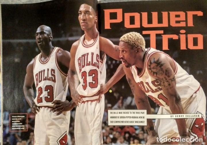 Coleccionismo deportivo: Michael Jordan - Revista Sports illustrated (1997) - Especial quinto anillo - NBA - Foto 9 - 76729867