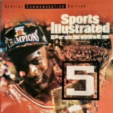 Coleccionismo deportivo: MICHAEL JORDAN - REVISTA ''SPORTS ILLUSTRATED'' (1997) - ESPECIAL QUINTO ANILLO - NBA. Lote 76729867