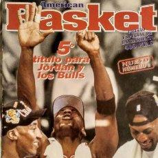 Coleccionismo deportivo: MICHAEL JORDAN - REVISTA ''AMERICAN BASKET'' - QUINTO ANILLO (1997) - NBA. Lote 136526382