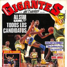 Coleccionismo deportivo: GIGANTES BASKET 169 ALL STAR GAME 89 CANDIDATOS CON POSTER. Lote 136560474