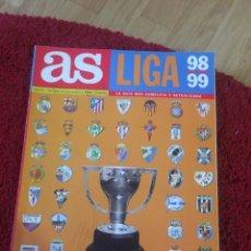 Coleccionismo deportivo: GUIA AS 1998 1999. Lote 136753497