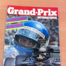 Coleccionismo deportivo: REVISTA F1 - GRAND PRIX INTERNATIONAL, Nº 41 (AGOSTO 1982) - GP AUSTRIA - ALEMANIA. Lote 136753654