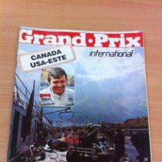 Coleccionismo deportivo: REVISTA F1 - GRAND PRIX INTERNATIONAL, Nº 13 (OCTUBRE 1980) - GP CANADÁ - USA. INCLUYE COLECCIONABLE. Lote 136753814