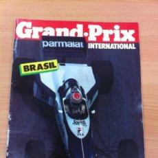 Coleccionismo deportivo: REVISTA F1 - GRAND PRIX INTERNATIONAL, Nº 46 (FEBRERO 1983) - GP BRASIL - VICTORIA DE NELSON PIQUET. Lote 136753970