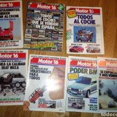Coleccionismo deportivo: REVISTA MOTOR 16 BMW VOLKSWAGEN POLO ALFA ROMEO PORSCHE. Lote 136759073