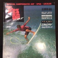 Coleccionismo deportivo: REVISTA TRES 60 SURF Nº 24 DICIEMBRE 1990 ENERO 1991. Lote 137107758