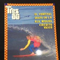 Coleccionismo deportivo: REVISTA TRES 60 SURF SKATE Nº 10. Lote 137107862