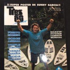 Coleccionismo deportivo: REVISTA TRES 60 SURF SKATE Nº 13. Lote 137108006