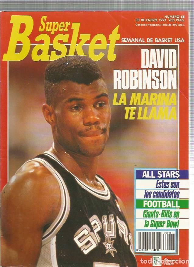 SUPER BASKET 65 (Coleccionismo Deportivo - Revistas y Periódicos - otros Deportes)