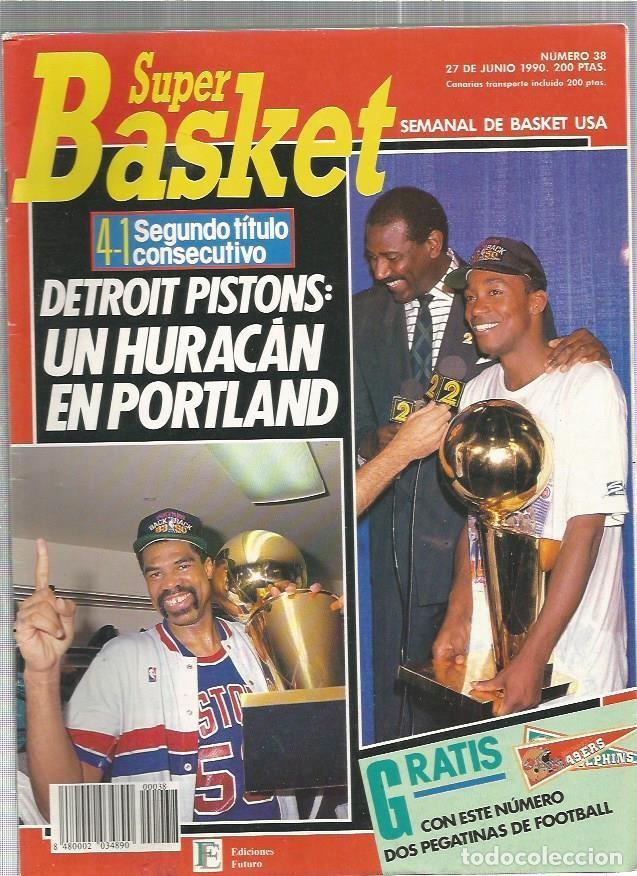 SUPER BASKET 38 (Coleccionismo Deportivo - Revistas y Periódicos - otros Deportes)