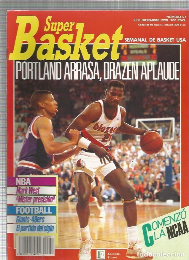 SUPER BASKET 57 (Coleccionismo Deportivo - Revistas y Periódicos - otros Deportes)