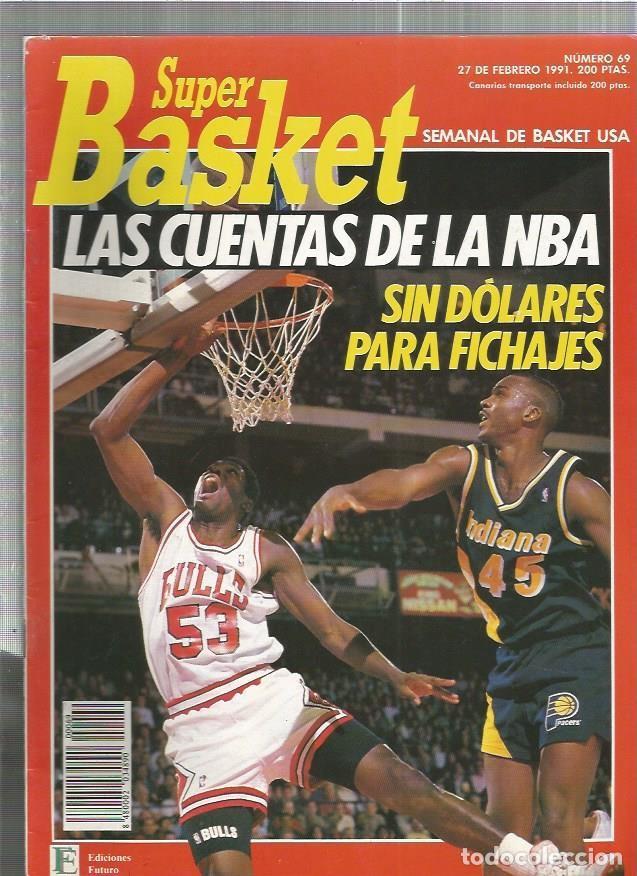 SUPER BASKET 69 (Coleccionismo Deportivo - Revistas y Periódicos - otros Deportes)