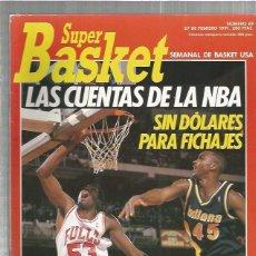 Coleccionismo deportivo: SUPER BASKET 69. Lote 137699622
