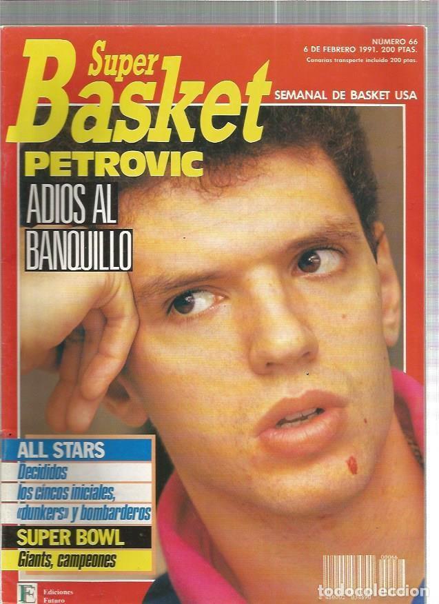 SUPER BASKET 66 (Coleccionismo Deportivo - Revistas y Periódicos - otros Deportes)