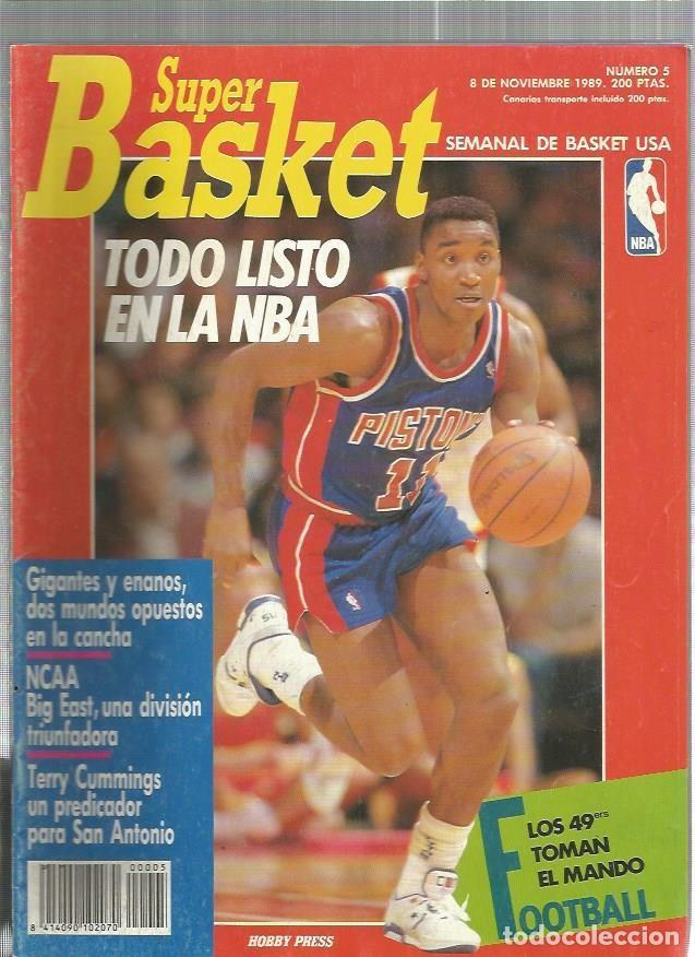 SUPER BASKET 5 (Coleccionismo Deportivo - Revistas y Periódicos - otros Deportes)