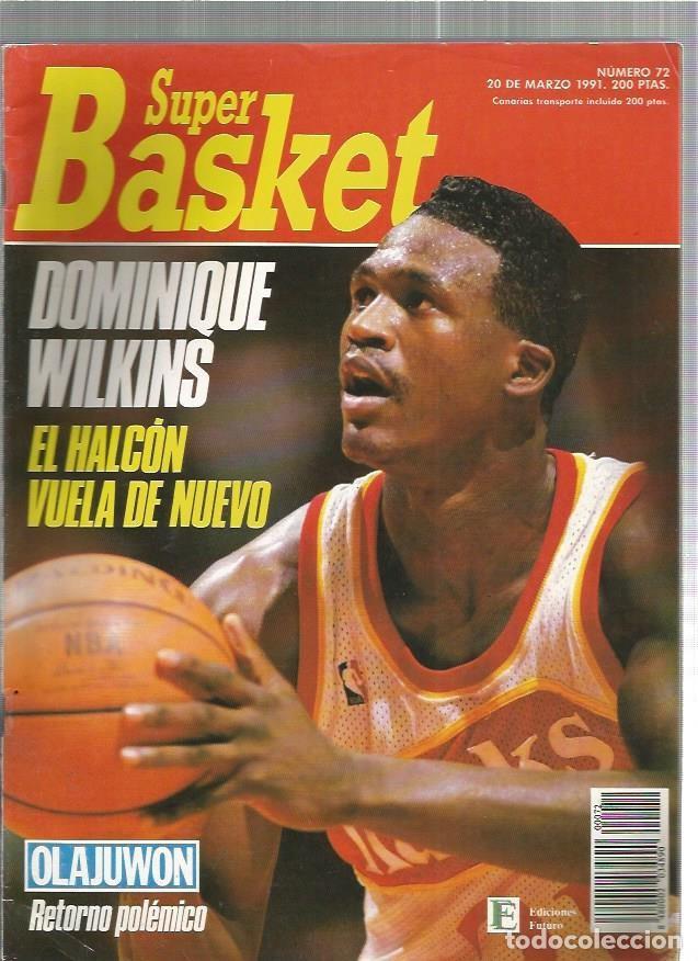 SUPER BASKET 72 (Coleccionismo Deportivo - Revistas y Periódicos - otros Deportes)