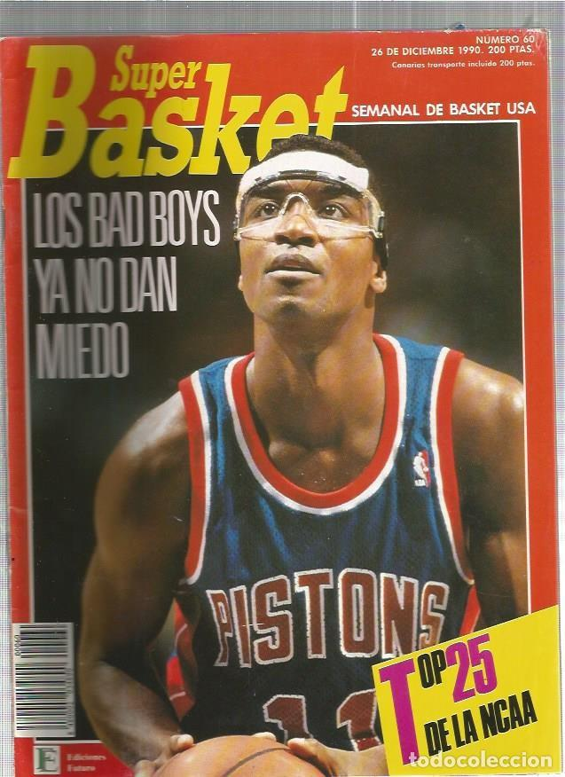 SUPER BASKET 60 (Coleccionismo Deportivo - Revistas y Periódicos - otros Deportes)