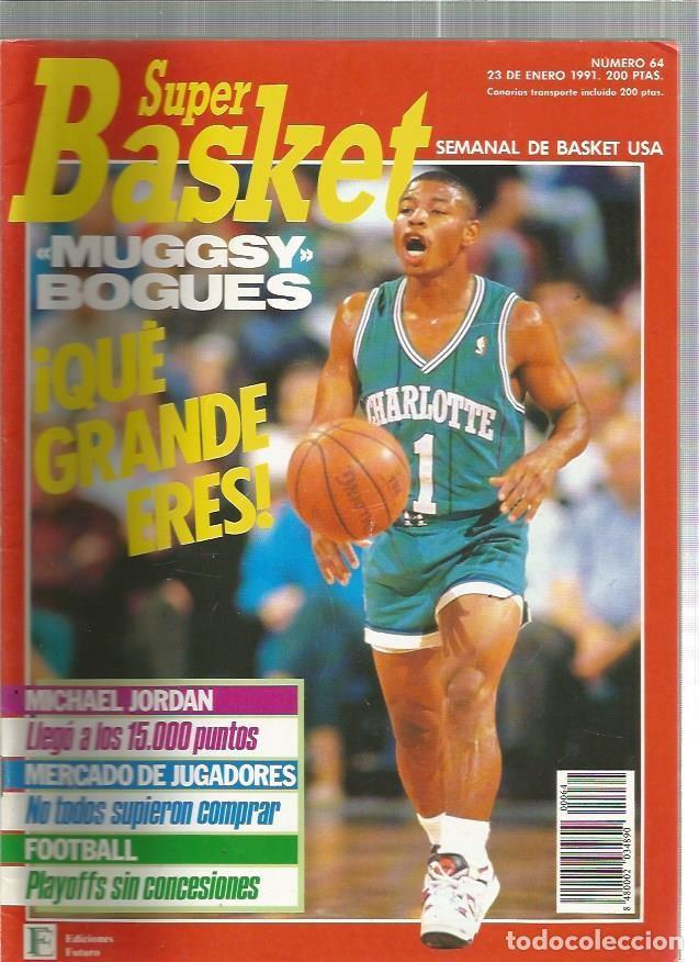 SUPER BASKET 64 (Coleccionismo Deportivo - Revistas y Periódicos - otros Deportes)