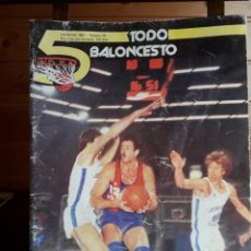 Coleccionismo deportivo: REVISTA BALONCESTO 5 TODO BALONCESTO Nº 26 FEBRERO 1981 DIFICIL DE CONSEGUIR. Lote 137864926