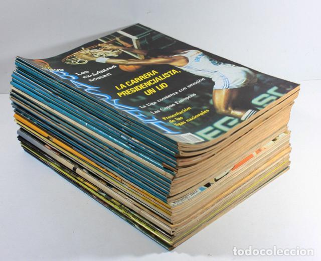 nouvelle arrivee 1cda1 44c85 Lote de 13 revistas baloncesto nuevo basket nb - Sold ...