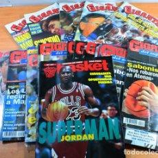 Coleccionismo deportivo: LOTE 16 REVISTAS BALONCESTO GIGANTES BASKET, SUPERBASKET Y DON BASKET 1992 A 1994, VER DESCRIPCION. Lote 146391970