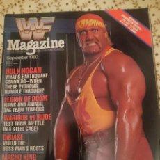Coleccionismo deportivo: REVISTA WWF MAGAZINE - SEPTIEMBRE 1990 - HULK HOGAN - WARRIOR - LEGION OF DOOM --REFM3E3. Lote 138917462