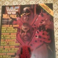 Coleccionismo deportivo: REVISTA WWF MAGAZINE - OCTOBER 1990 - LEGION OF DOOM - BIG BOSS MAN - DUSTY RHODES --REFM3E3. Lote 138917490
