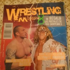 Coleccionismo deportivo: REVISTA WWF MAGAZINE - AÑO 11 N 8 - BATISTA - ULTIMATE WARRIOR - EN ESPAÑOL --REFM3E3. Lote 138917554