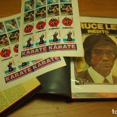 Coleccionismo deportivo: BRUCE LEE ~ ALBUM DE RECORTES DE REVISTA Y PRENSA ~ SCRAPBOOK. Lote 138984902