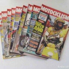 Coleccionismo deportivo: LOTE DE 9 REVISTAS DE MOTOCICLISMO DEL AÑO 1992. Lote 138996938