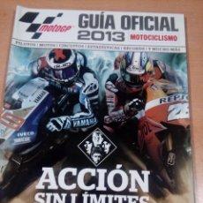 Coleccionismo deportivo: REVISTA MOTOCICLISMO - GUÍA MOTO GP 2013. Lote 139098498
