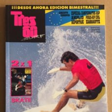 Coleccionismo deportivo: REVISTA TRES 60 SURF AND SKATE Nº 11. Lote 139302210